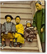 Chinatown Family Acrylic Print