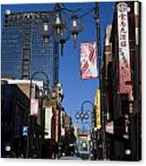 Chinatown Melbourne Acrylic Print