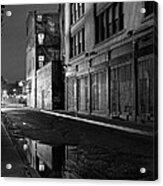Chinatown New York City - Forsythe Street Acrylic Print
