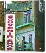 Chinatown Souvenir Shop No. 2 Acrylic Print