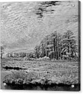 Chincoteague Island Infrared Pano Acrylic Print