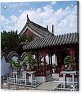 Chinese Bonsai Garden Acrylic Print