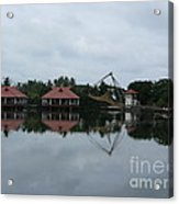 Chinese Fishing Net In Kerala Acrylic Print