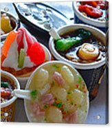 Chinese Food Miniatures 4 Acrylic Print