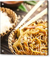 Chinese Food Acrylic Print