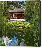Chinese Garden Dream Acrylic Print
