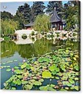 Chinese Garden - Huntington Library. Acrylic Print