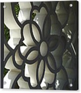 Chinese Garden Window Acrylic Print