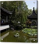 Chinese Gardens The Huntington Library Acrylic Print