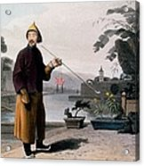 Chinese Gentleman, From A Picturesque Acrylic Print