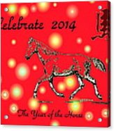 Chinese New Year 2014 Acrylic Print