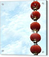 Chinese Red Lampion  Acrylic Print