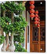 Chinese Red Lanterns Acrylic Print