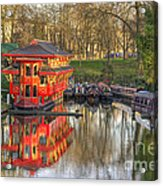 Chinese Reflections  Acrylic Print