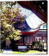 Chinese Sancuary Acrylic Print