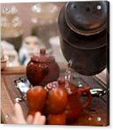 Chinese Tea Party Acrylic Print
