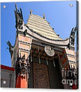 Chinese Theatre In Hollywood Acrylic Print