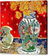 Chinoiserie Acrylic Print by Diane Fine
