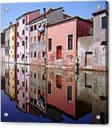 Chioggia Acrylic Print by Giorgio Darrigo