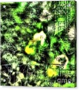 Chip Green Acrylic Print