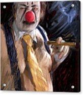 Chippy The Clown Acrylic Print