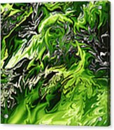 Chlorophylle Acrylic Print