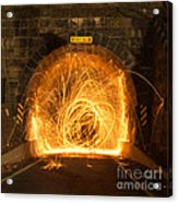 Choas Tunnel Acrylic Print