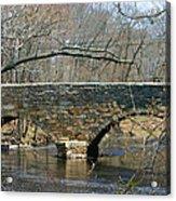Choate Bridge Ipswich Ma Acrylic Print