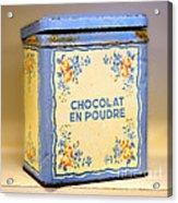 Chocolat En Poudre Acrylic Print