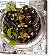Chocolate Berries Acrylic Print