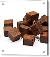 Chocolate Brownies Acrylic Print