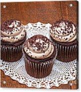Chocolate Caramel Cupcakes Acrylic Print