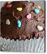 Chocolate Cupcake Acrylic Print