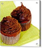 Chocolate Cupcakes Acrylic Print