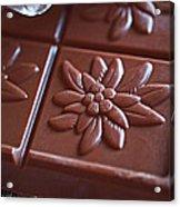 Chocolate Flower  Acrylic Print