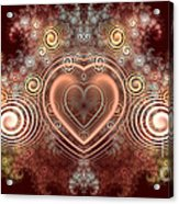 Chocolate Heart Acrylic Print