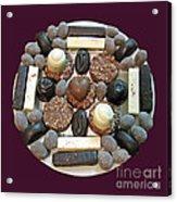 Chocolate Mandala Acrylic Print