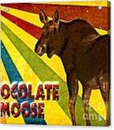 Chocolate Moose Acrylic Print