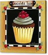 Chocolate Pecan Cupcake Acrylic Print