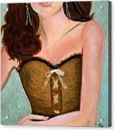 Chocolate Romance Acrylic Print by Debi Starr