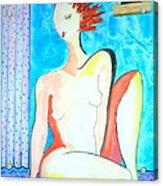 CHOICE - It's My Body Acrylic Print