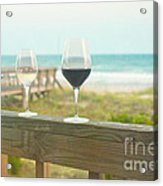 Choices At The Beach Acrylic Print