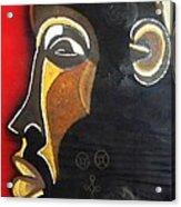 Chokwe Mask Acrylic Print