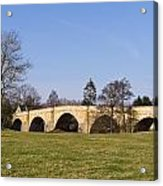 Chollerford Bridge Acrylic Print