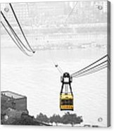 Chongqing Cable Car Acrylic Print