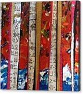 Chop Sticks Acrylic Print