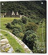Choquequirao Inca Terraces Acrylic Print