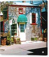 Chowder House Rockport Ma Acrylic Print