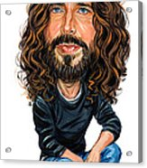 Chris Cornell Acrylic Print by Art