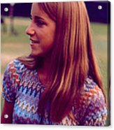 Chris Evert Acrylic Print